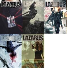 Lazarus Lot 16 17 18 19 20