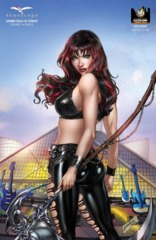 GFT Grimm Tales Of Terror Vol 2 #5 Cover E Jose Luis WW Cleveland Exclusive LTD 500