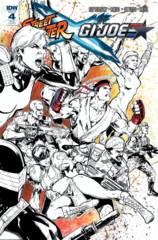 Street Fighter X Gi Joe #4 (Of 6) 1:25 Variant