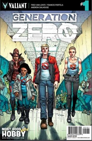 Generation Zero #1 MGH Exclusive Guinaldo Variant