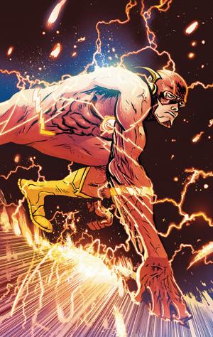 Flash Vol 1 #756 Cover B Daniel Johnson Variant