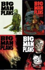 Big Man Plans Lot 1 2 3 4 Set