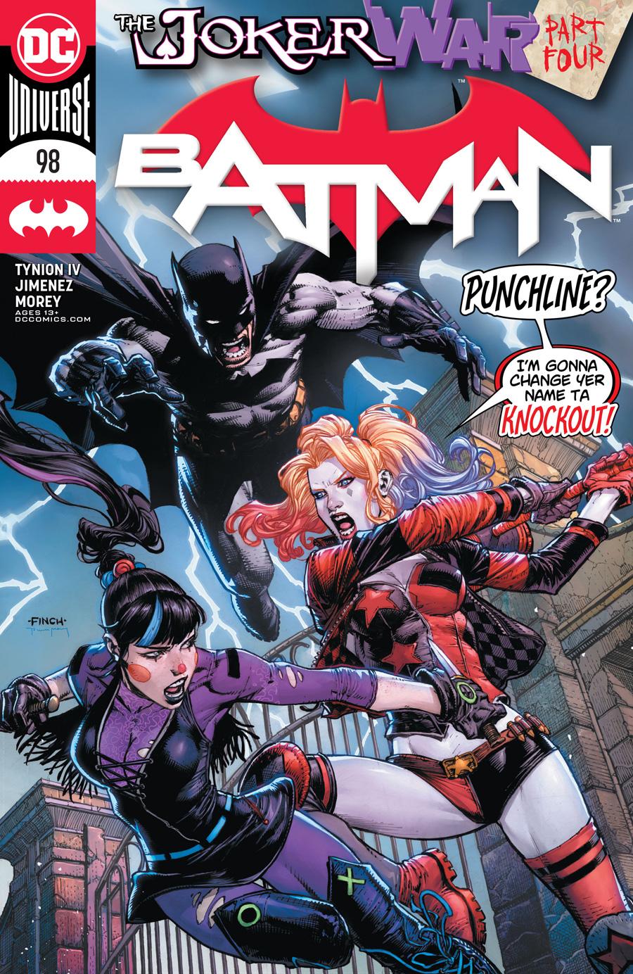 Batman Vol 3 #98 Cover A David Finch
