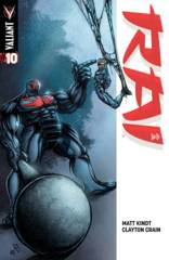 Rai #10 Cover D 1:20 Lee Variant