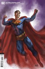 Action Comics Vol 1 #1024 Cover B Lucio Parrillo Variant