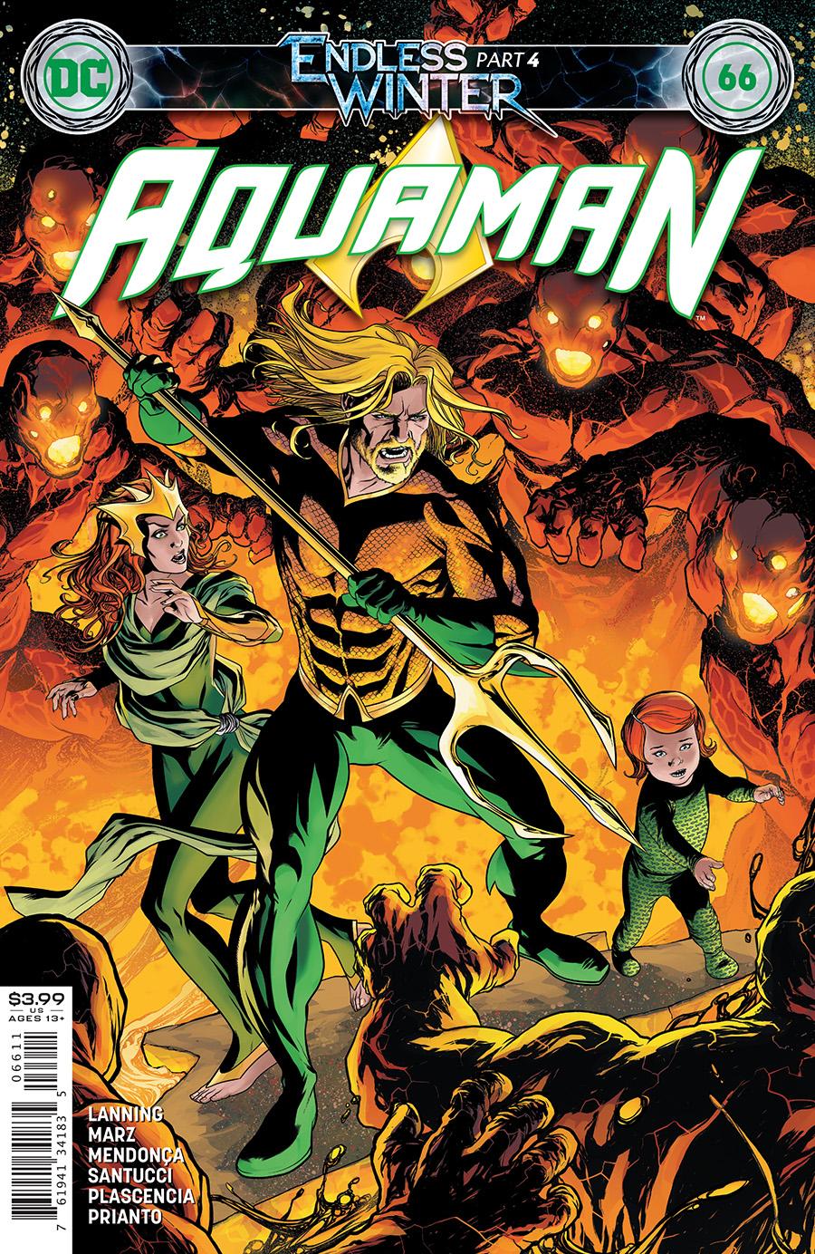Aquaman Vol 8 #66 Cover A Mike Mckone (Endless Winter)