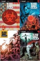 Bloodshot USA Lot 1 2 3 4 Cover A Set