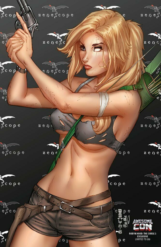 Robyn Hood The Curse #3 Cover E Mike DeBalfo Awesome Con Exclusive LTD 350