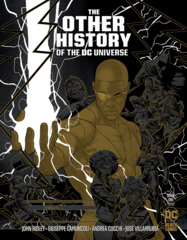 Other History Of The DC Universe #1 (Of 5) Cover C 1:25 Jamal Campbell Gold Metallic Ink Variant