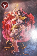 Divinica #4 Dawn McTeigue Gold Risque Variant LTD To 25