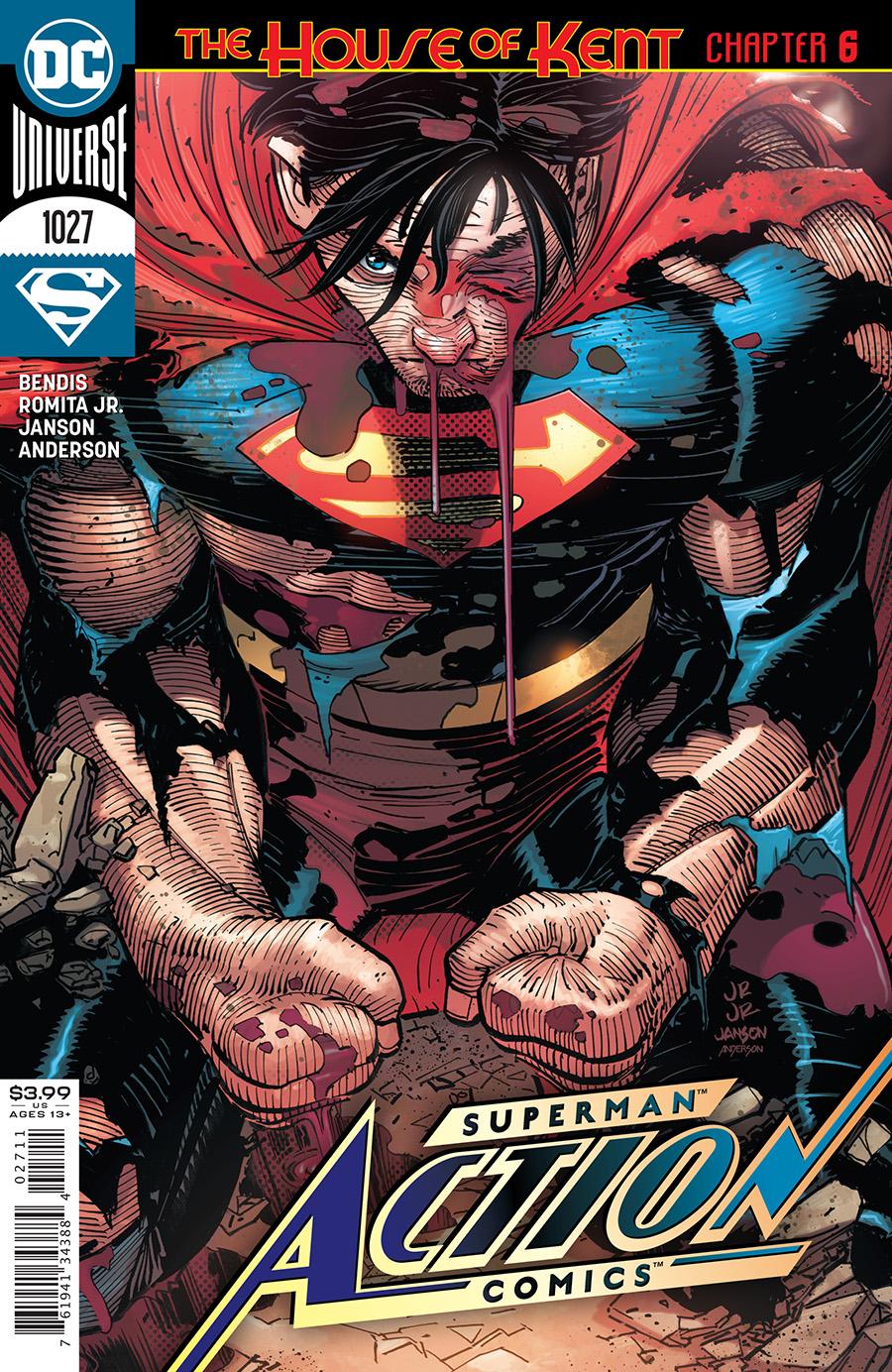 Action Comics Vol 1 #1027 Cover A John Romita Jr & Klaus Janson