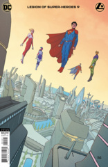 Legion Of Super-Heroes Vol 8 #9 Cover B Andre Araujo Variant
