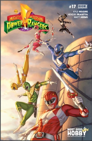 Mighty Morphin Power Rangers #17 Most Good Hobby Exclusive Mike Krome Variant