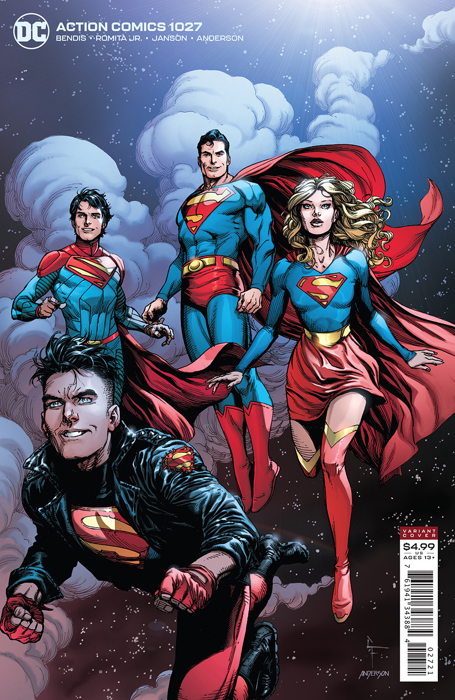 Action Comics Vol 1 #1027 Cover B Gary Frank Card Stock Variant