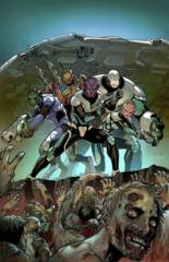 Aliens Vs Zombies #1 (Of 5) A Cover Chen