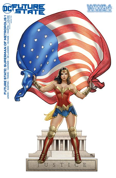 Future State Superman Of Metropolis #1 (Of 2) Cover D Wonder Woman 1984 Frank Cho Variant