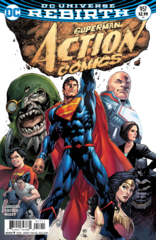 Action Comics Vol 1 #957 Cover A Ivan Reis