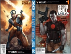 X-O Manowar #50 Bloodshot USA #1 Most Good Exclusive Dawn McTeigue Combo