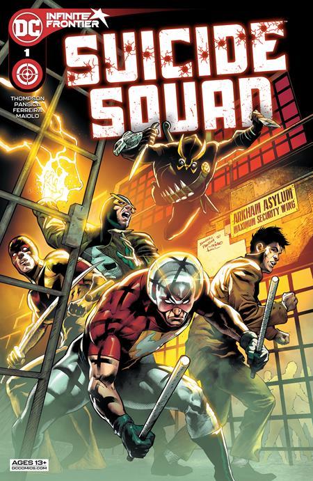 Suicide Squad Vol 7 #1 Cover A Eduardo Pansica