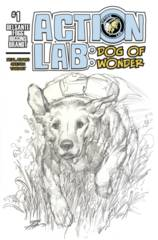 Action Lab Dog Of Wonder #1 Cover C Adams Sketch Variant