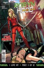GFT Robyn Hood I Love NY #3 (Of 12) D Cover Riveiro