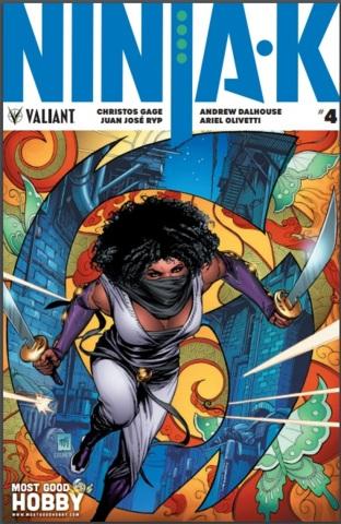 Ninja-K #4 MGH Exclusive Krome Variant