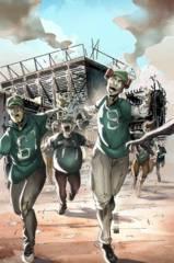Aliens Vs Zombies #5 (Of 5) D Cover Cafaro