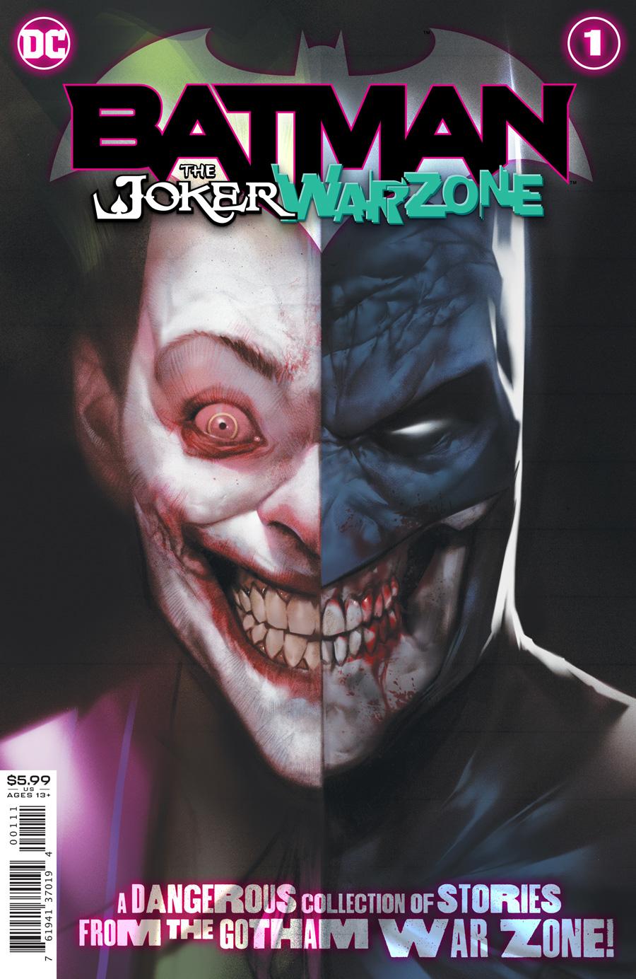 Batman Vol 3 Joker War Zone #1 Cover A Ben Oliver