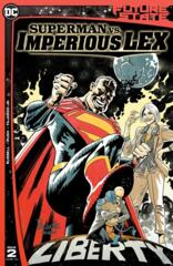 Future State Superman Vs Imperious Lex #2 (Of 3) Cover A Yanick Paquette