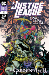 Justice League Vol 4 #52 Cover A Cully Hamner