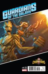 Now Guardians Of Galaxy #15 1:10 Games Variant