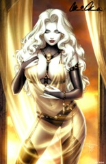 Lady Death All Hallows Evil #1 Sensual Virgin Edition Kickstarter Exclusive