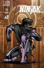 Ninjak #3 Cover C 1:10 Sandoval Variant