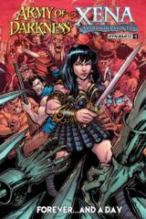 AOD Xena Forever And A Day #1 (Of 6) Cover B Fernandez