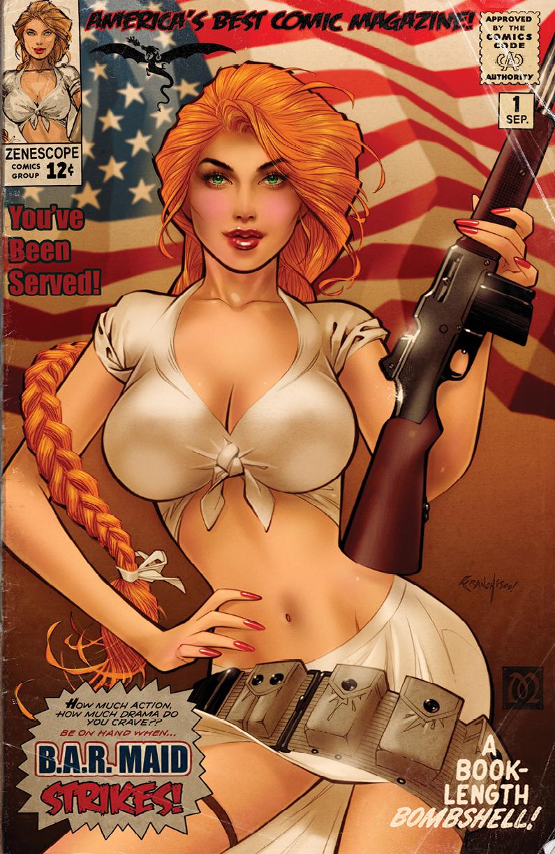 B.A.R. Maid #1 Cover E Franchesco Retailer Exclusive