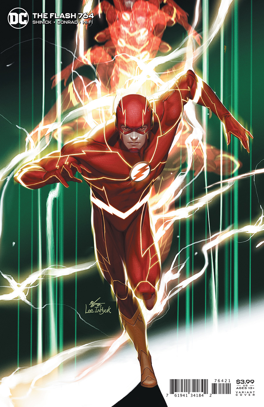 Flash Vol 1 #764 Cover B Inhyuk Lee Variant