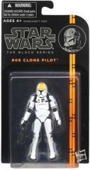 Star Wars Black #8 Clone Pilot 3 3/4 Inch Action Figure