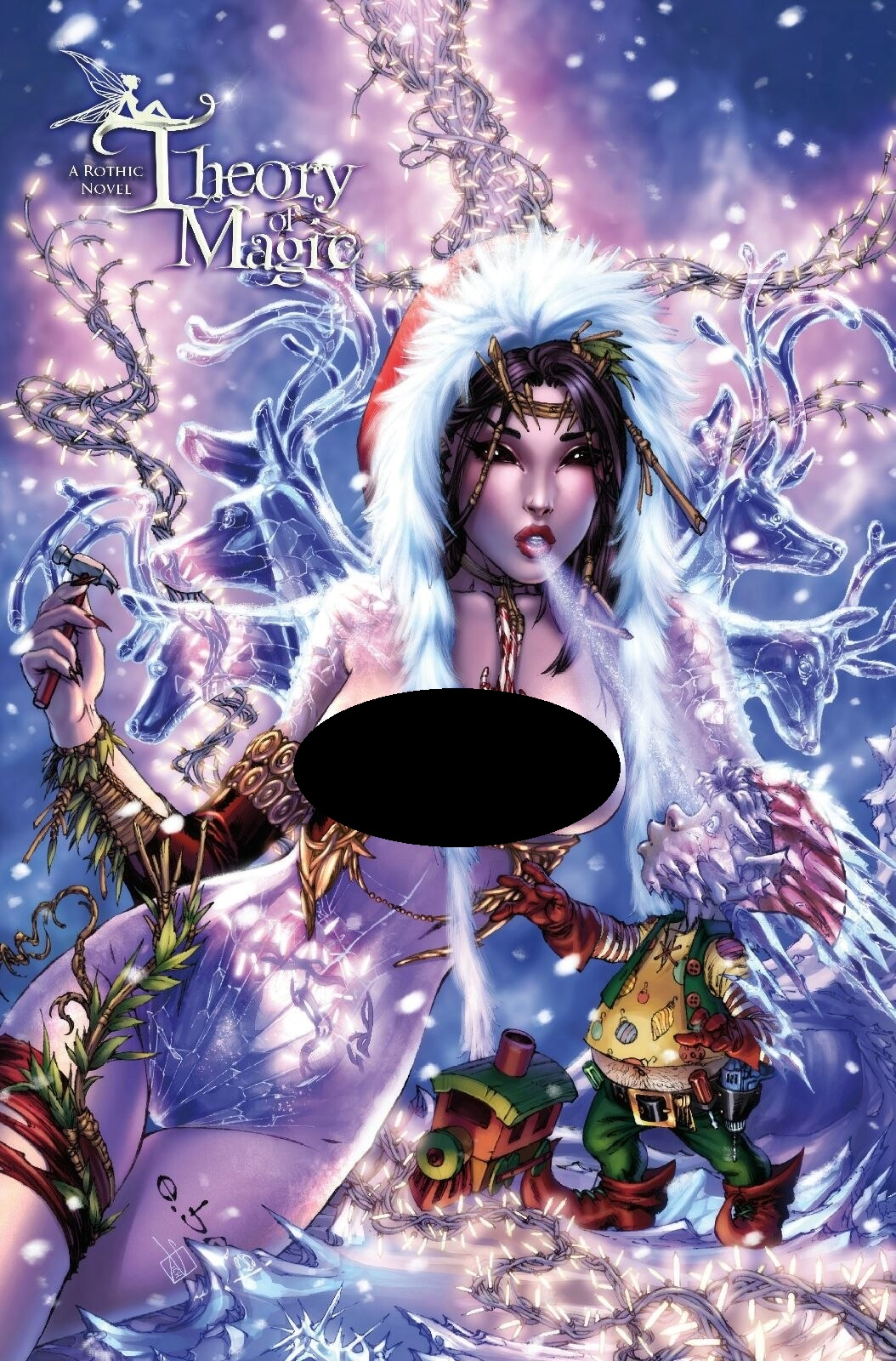 Theory Of Magic Teaser EBAS Risque Nude Holiday Cover LTD to 150