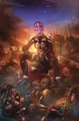 Aliens Vs Zombies #2 (Of 5) C Cover Cafaro