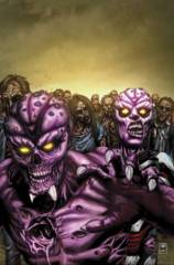 Aliens Vs Zombies #1 (Of 5) B Cover Spay