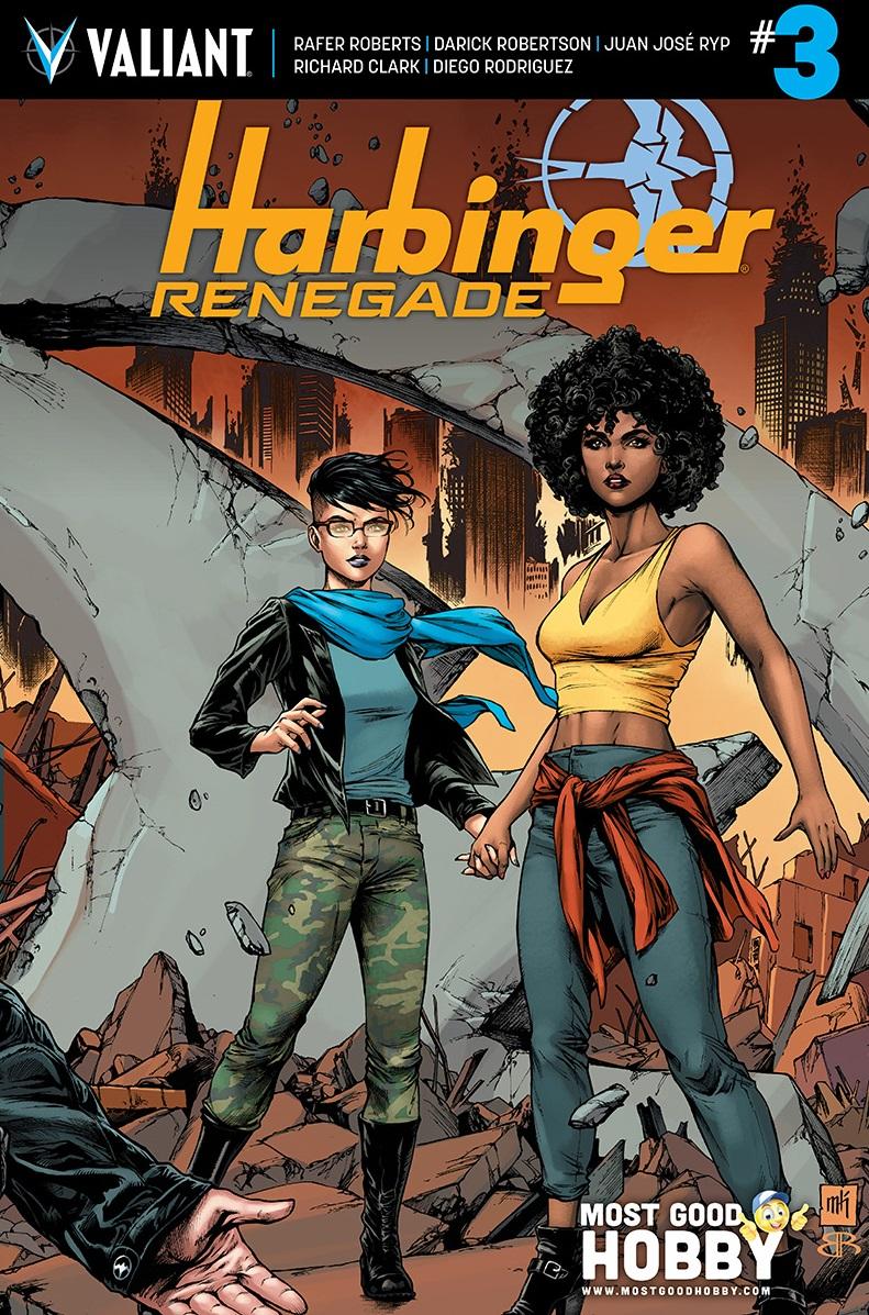 Harbinger Renegade #3 Most Good Exclusive Mike Krome Variant