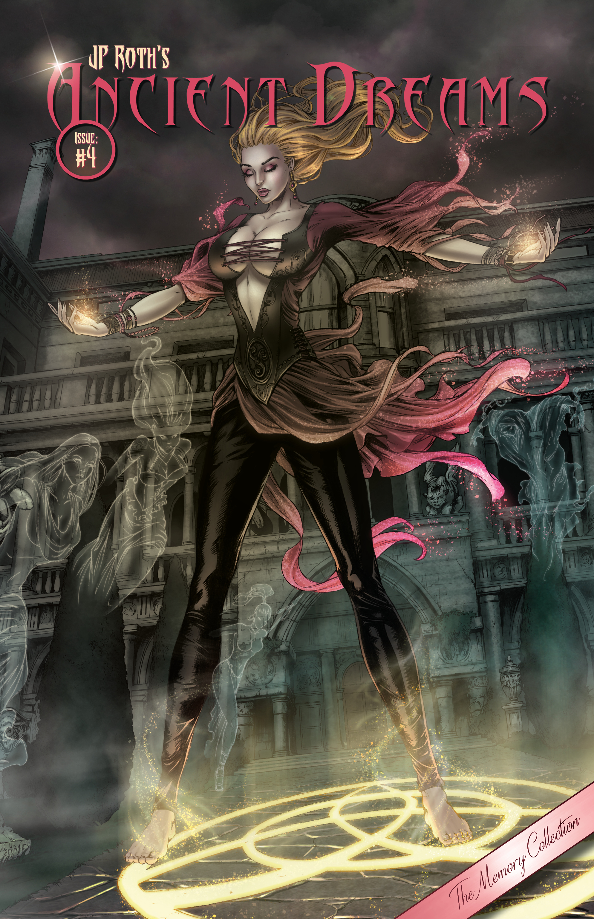Ancient Dreams #4 Mike Krome Memory Collection Variant LTD 150