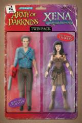 AOD Xena Forever And A Day #1 (Of 6) Cover C Robinson Action Figure Variant