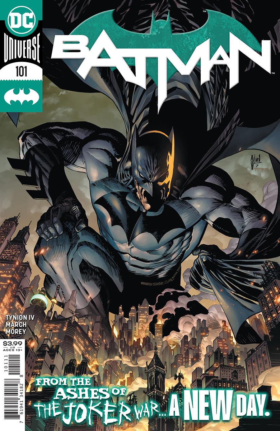 Batman Vol 3 #101 Cover A Guillem March