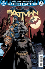 Batman Vol 3 #1 Cover A David Finch (REBIRTH)
