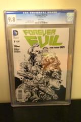 Forever Evil #3 1:200 Sketch Variant CGC 9.8