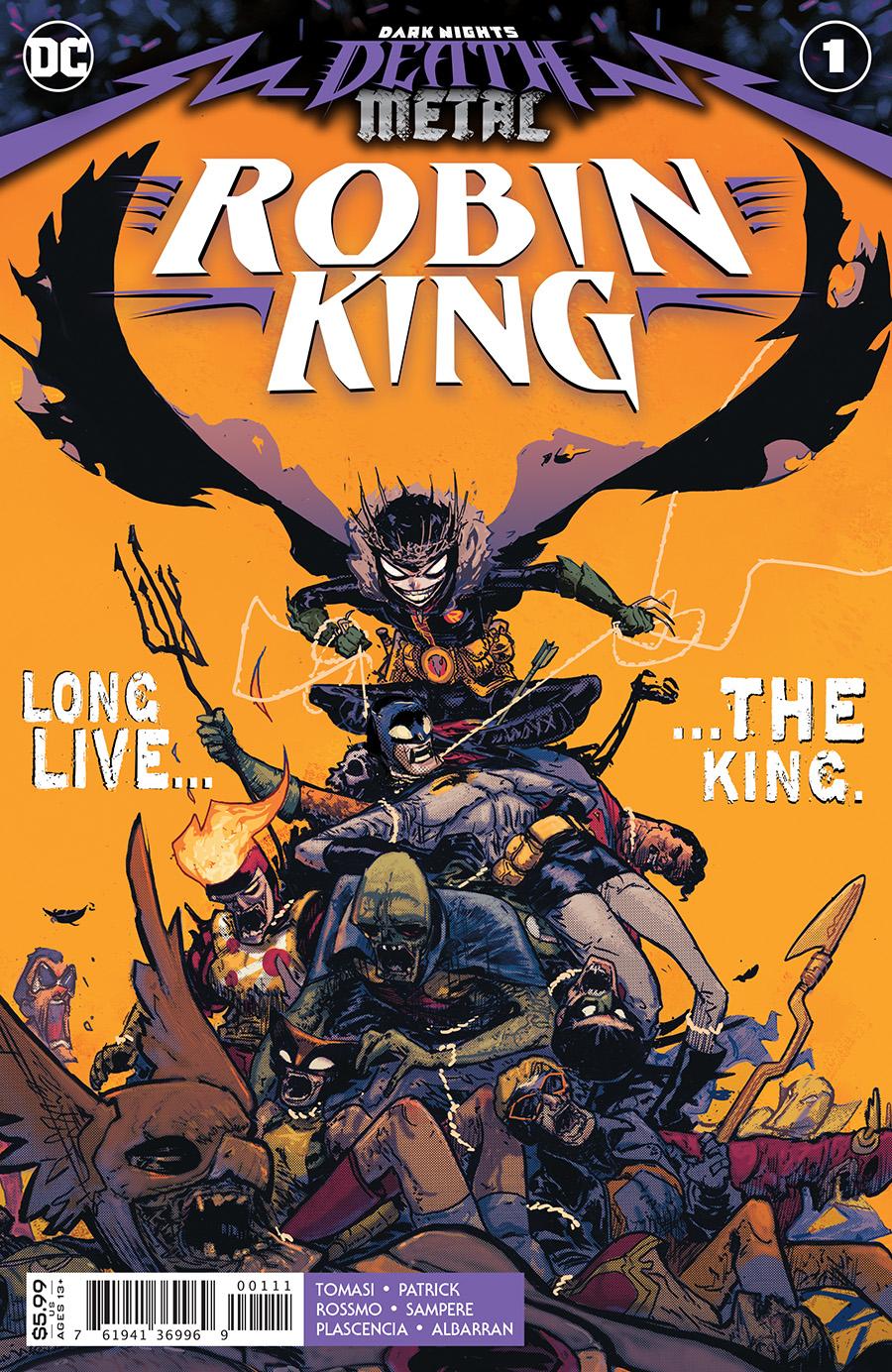 Dark Nights Death Metal Robin King #1 Cover A Riley Rossmo