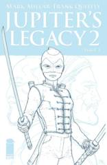 Jupiters Legacy Vol 2 #1 (Of 5) Cover E 1:25 Quitely Sketch Variant