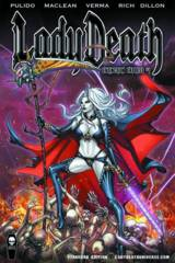 Lady Death Extinction Express #1 Standard Edition