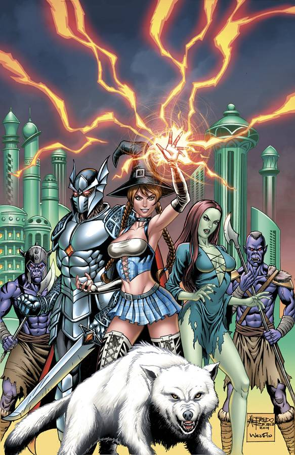 GFT Oz Reign Of Witch Queen #1 (Of 6) B Cover Reyes